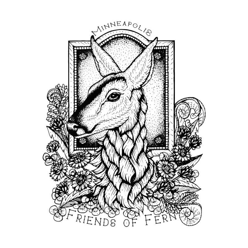 Friends of Fern II Accessories Sticker by Black Banjo Arts