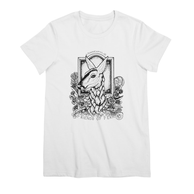 Friends of Fern II Women's Premium T-Shirt by Black Banjo Arts