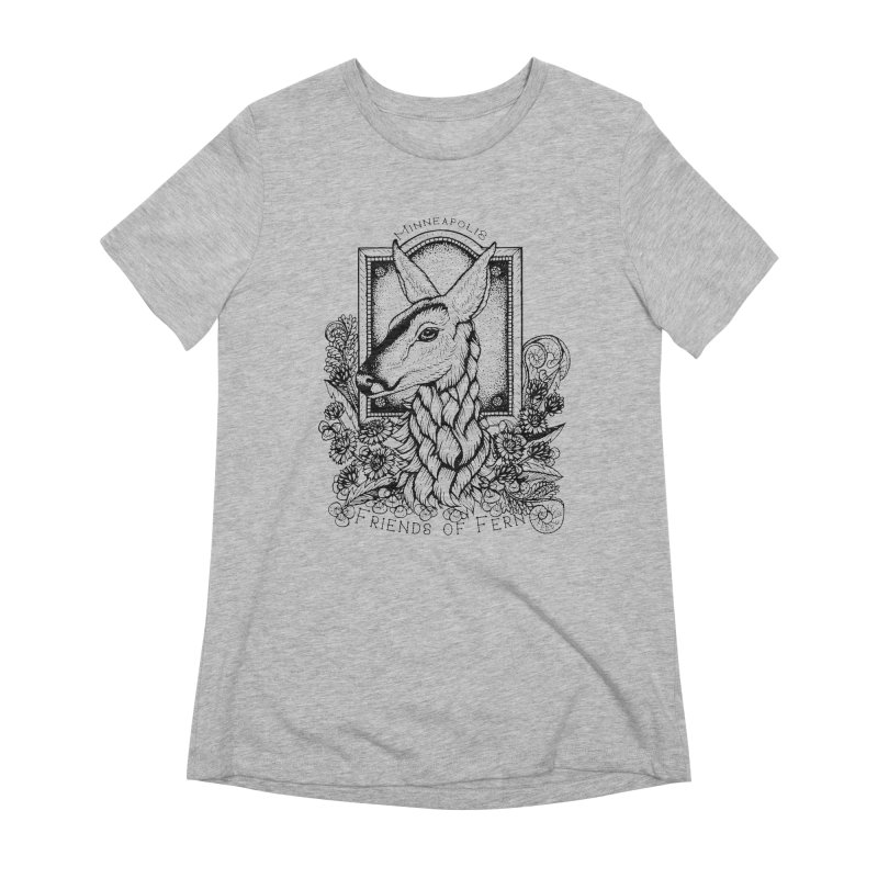 Friends of Fern II Women's T-Shirt by Black Banjo Arts