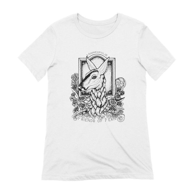 Friends of Fern II Women's T-Shirt by Black Banjo Arts