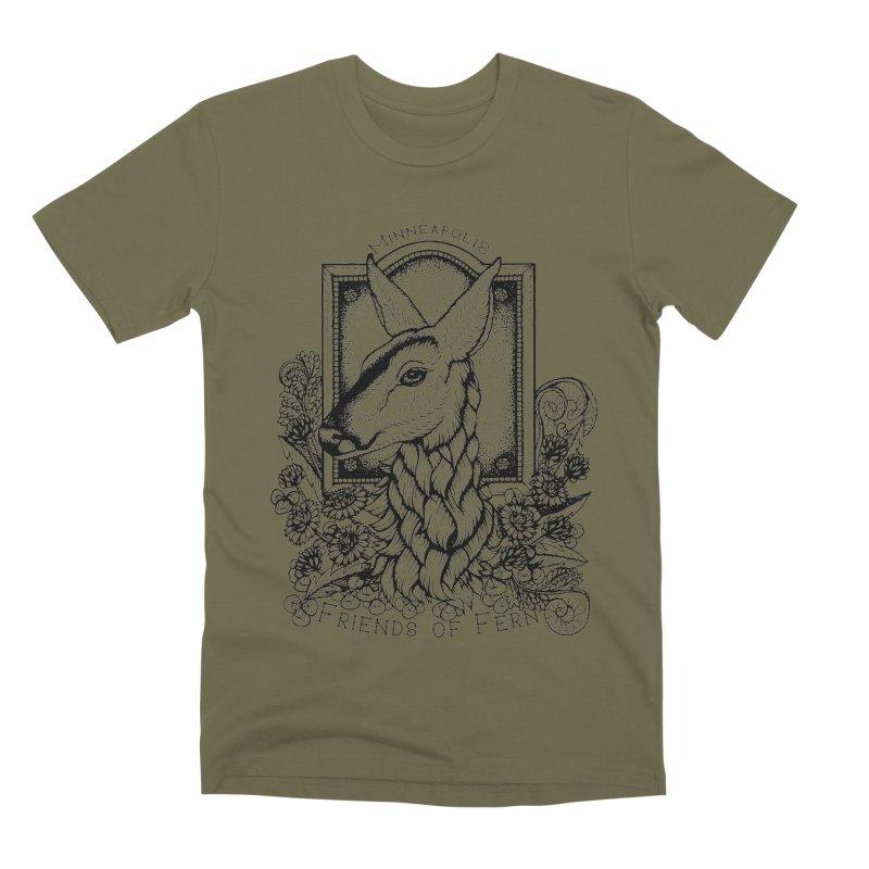 Friends of Fern II Men's Premium T-Shirt by Black Banjo Arts