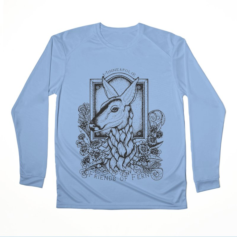 Friends of Fern II Women's Performance Unisex Longsleeve T-Shirt by Black Banjo Arts