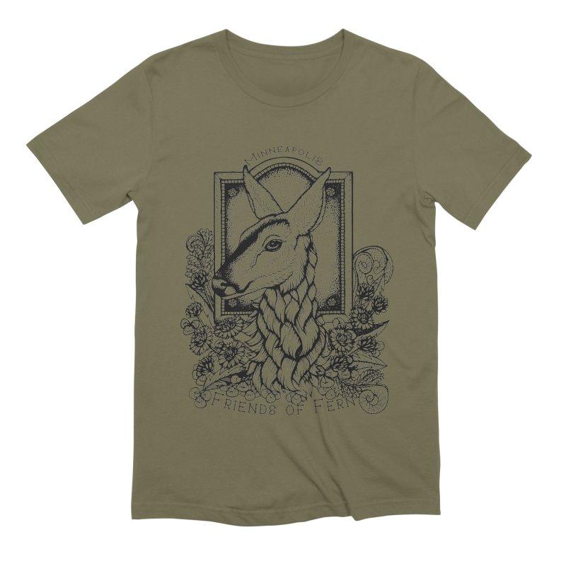 Friends of Fern II Men's Extra Soft T-Shirt by Black Banjo Arts