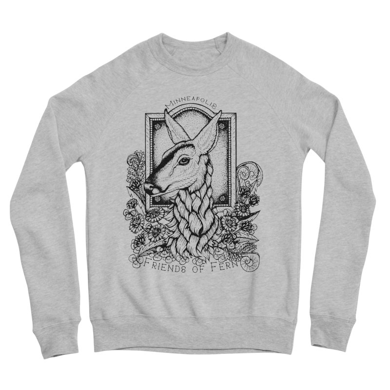 Friends of Fern II Men's Sweatshirt by Black Banjo Arts