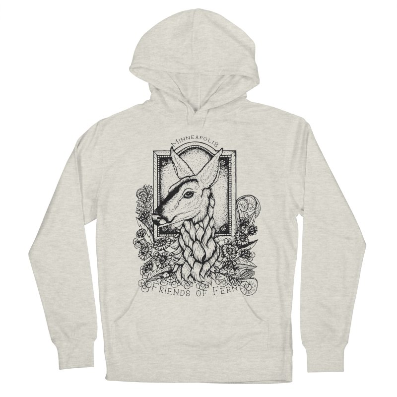 Friends of Fern II Men's Pullover Hoody by Black Banjo Arts