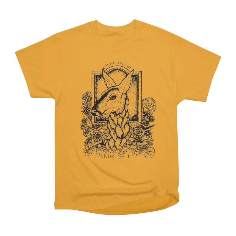 Friends of Fern II Women's Heavyweight Unisex T-Shirt by Black Banjo Arts