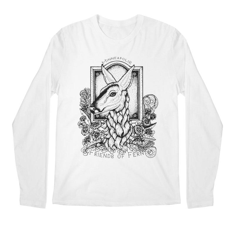 Friends of Fern II Men's Regular Longsleeve T-Shirt by Black Banjo Arts