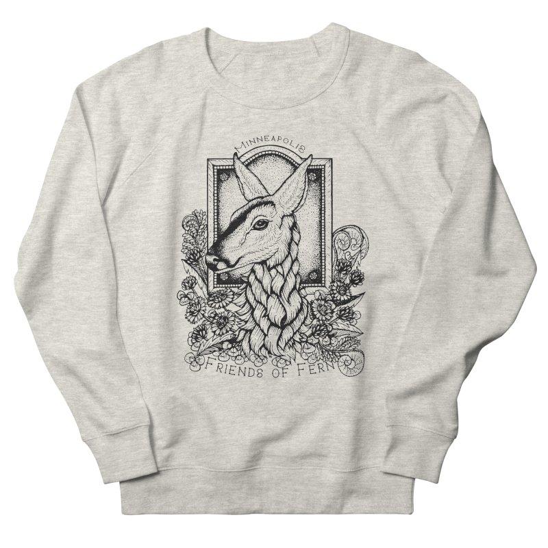 Friends of Fern II Men's Sweatshirt by Black Banjo Arts