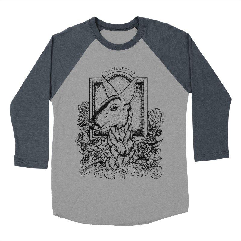 Friends of Fern II Women's Baseball Triblend Longsleeve T-Shirt by Black Banjo Arts