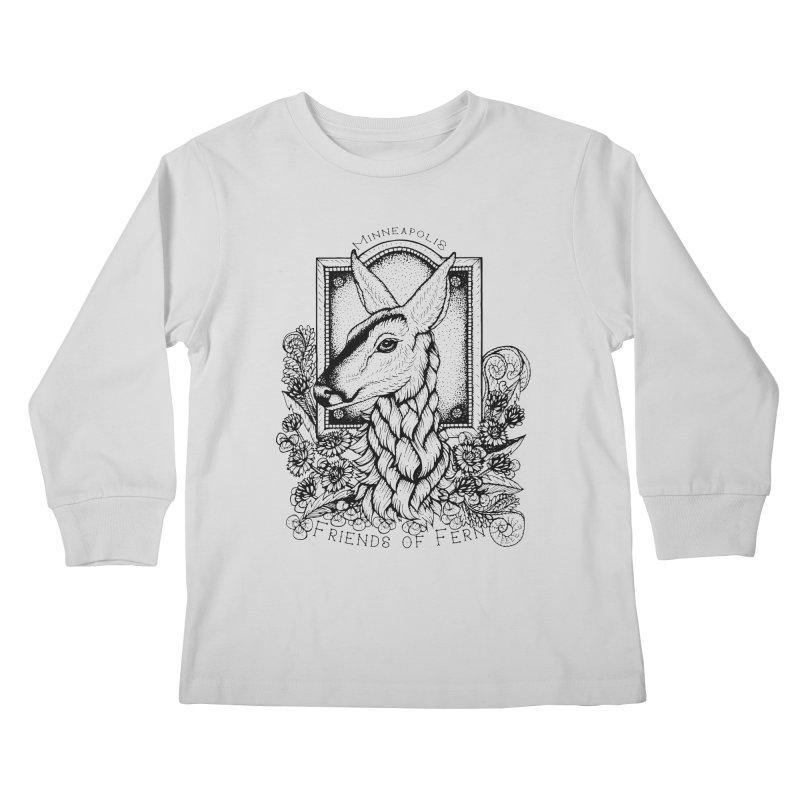 Friends of Fern II Kids Longsleeve T-Shirt by Black Banjo Arts