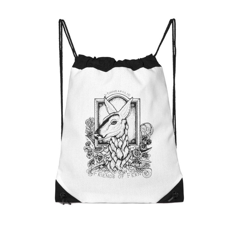 Friends of Fern II Accessories Bag by Black Banjo Arts