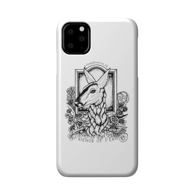 Friends of Fern II Accessories Phone Case by Black Banjo Arts