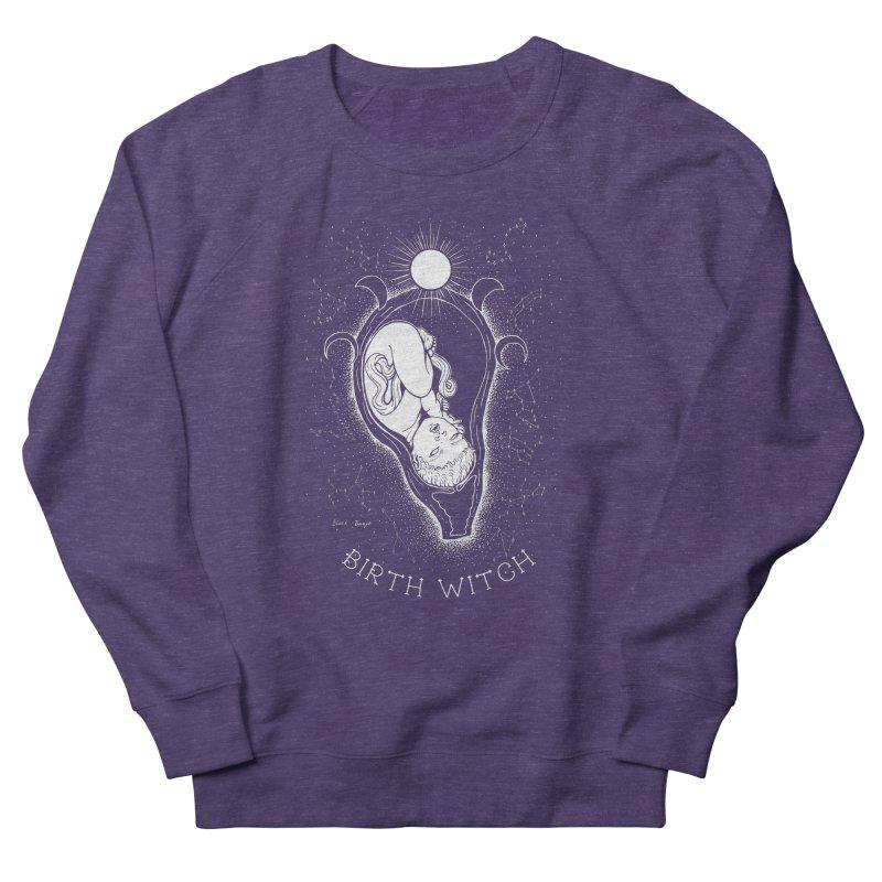 Celestial Birth Witch Women's French Terry Sweatshirt by Black Banjo Arts