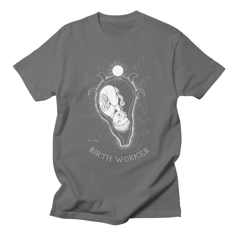Celestial Birth Worker Men's T-Shirt by Black Banjo Arts
