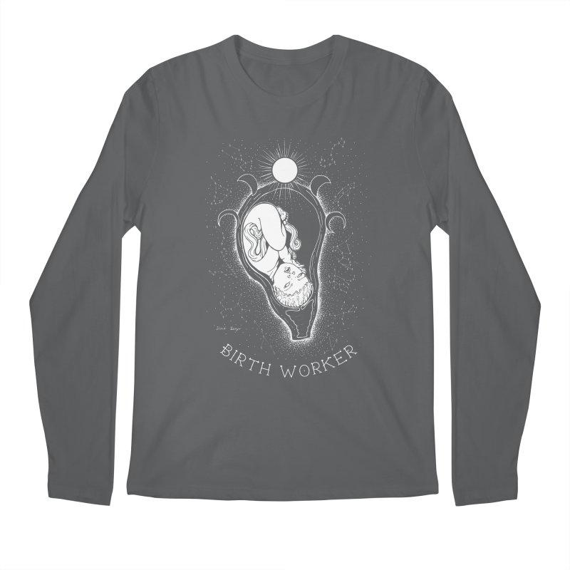 Celestial Birth Worker Men's Longsleeve T-Shirt by Black Banjo Arts