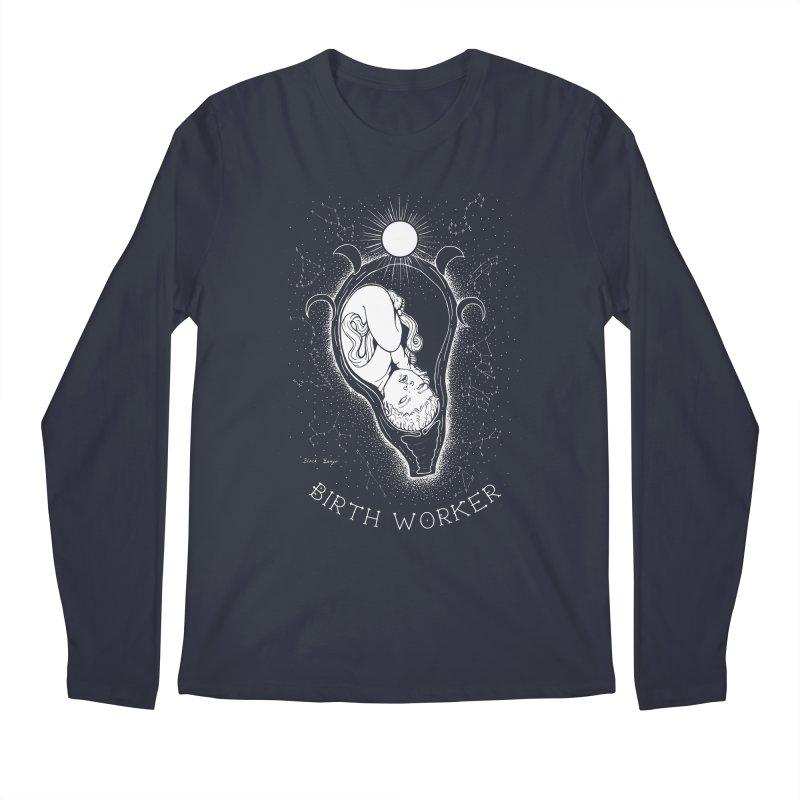 Celestial Birth Worker Men's Regular Longsleeve T-Shirt by Black Banjo Arts