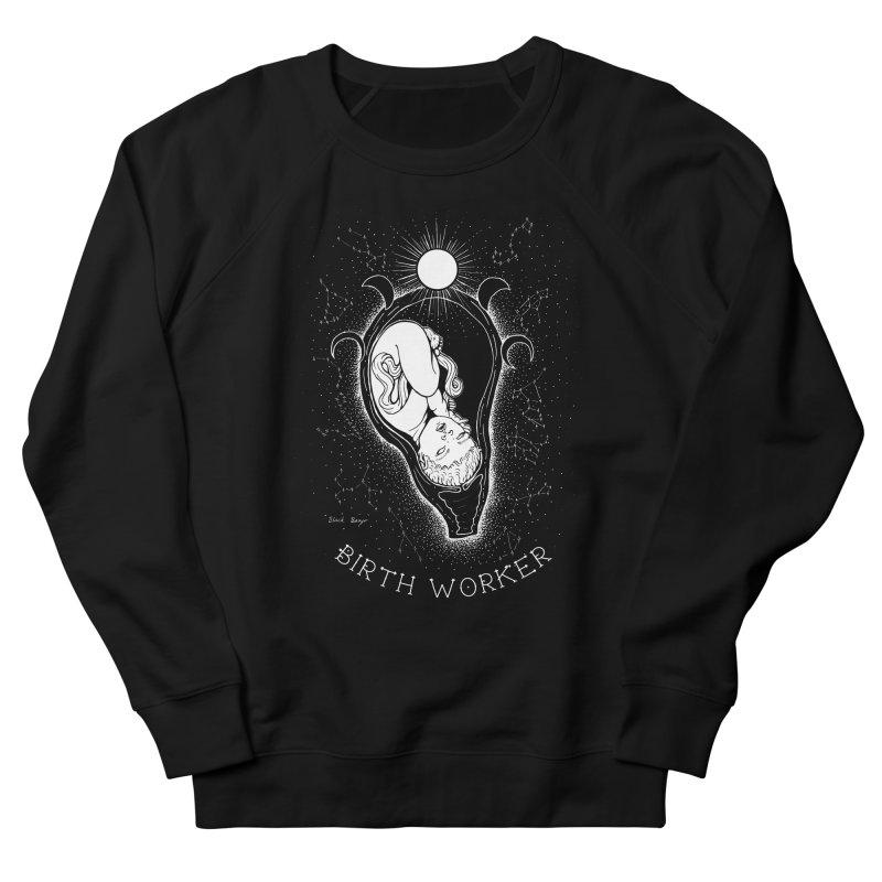 Celestial Birth Worker Women's French Terry Sweatshirt by Black Banjo Arts