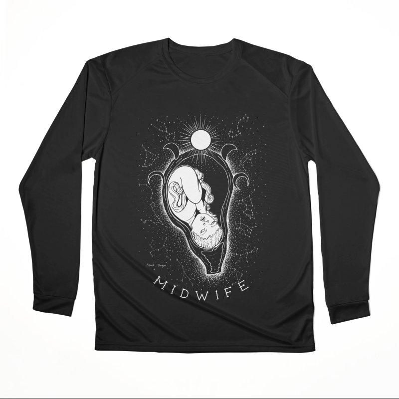 Celestial Midwife Men's Performance Longsleeve T-Shirt by Black Banjo Arts