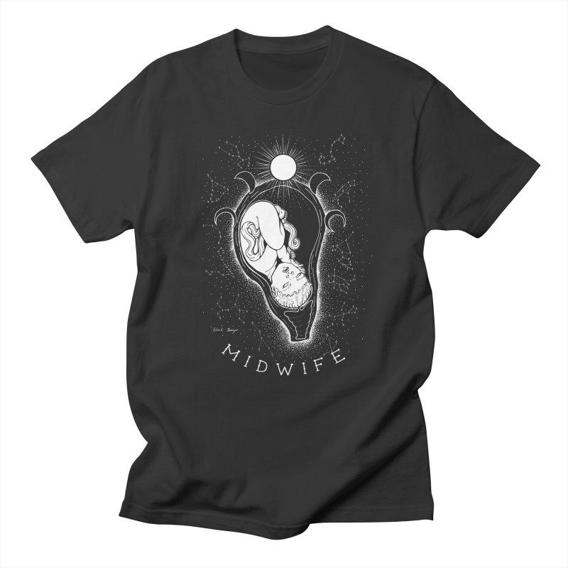 Celestial Midwife Men's Regular T-Shirt by Black Banjo Arts