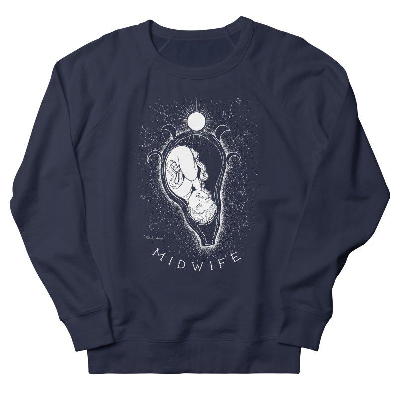 Celestial Midwife Women's French Terry Sweatshirt by Black Banjo Arts
