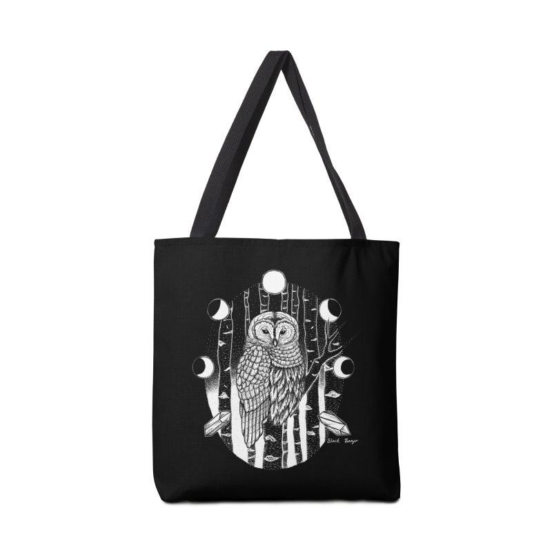 Owl & Birch Accessories Tote Bag Bag by Black Banjo Arts