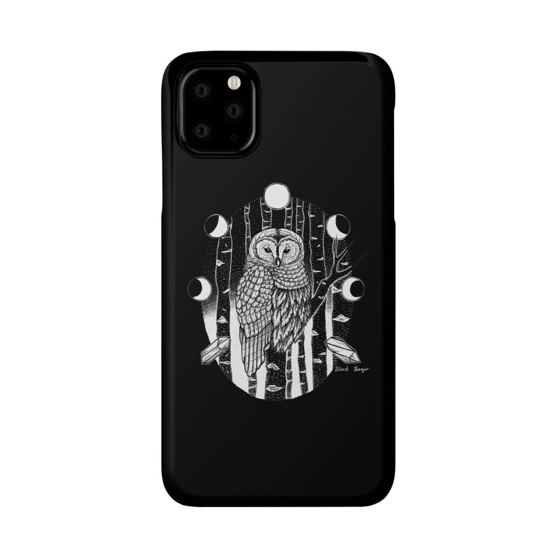 Owl & Birch Accessories Phone Case by Black Banjo Arts