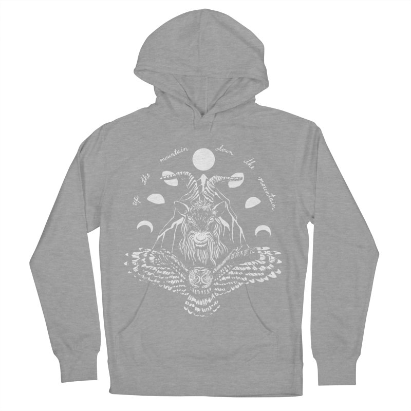 Up The Mountain, Down The Mountain Women's French Terry Pullover Hoody by Black Banjo Arts
