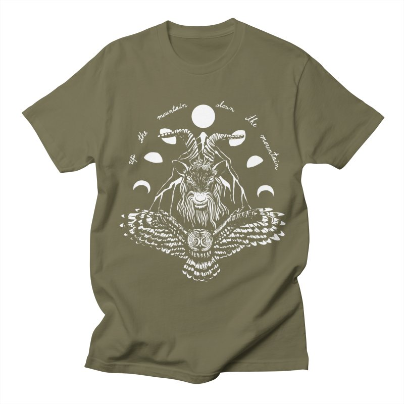 Up The Mountain, Down The Mountain Women's Regular Unisex T-Shirt by Black Banjo Arts
