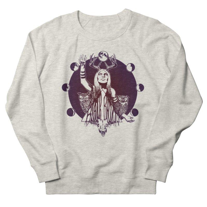 Blue Moon - Gradient Color Women's Sweatshirt by Black Banjo Arts