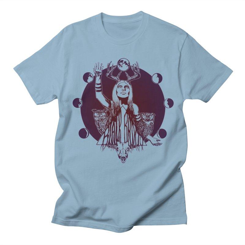 Blue Moon - Gradient Color Women's Regular Unisex T-Shirt by Black Banjo Arts