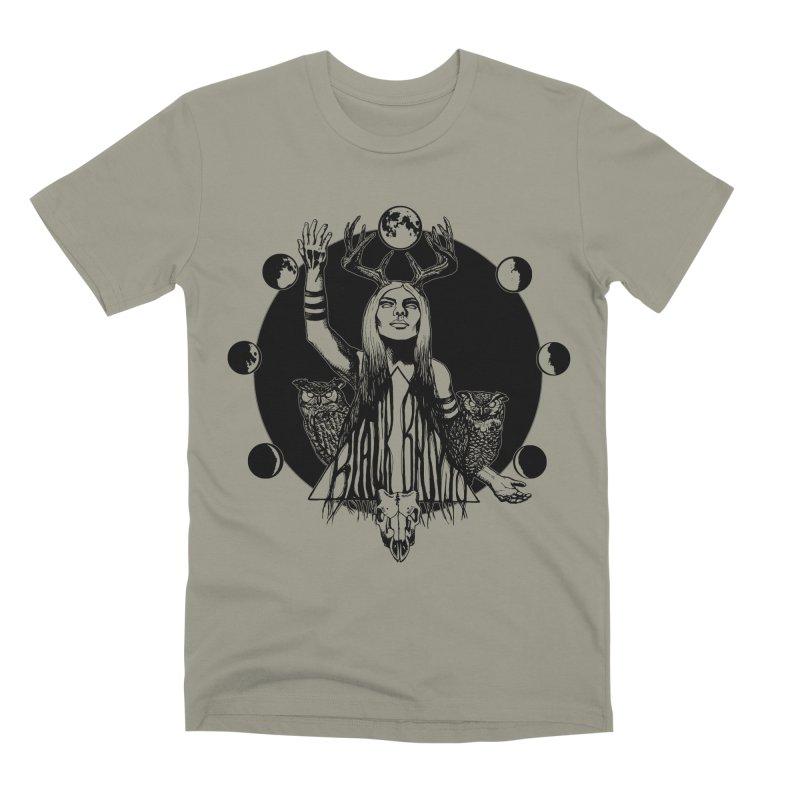 Blue Moon Men's Premium T-Shirt by Black Banjo Arts