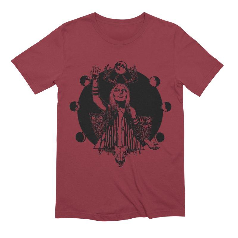 Blue Moon Men's Extra Soft T-Shirt by Black Banjo Arts