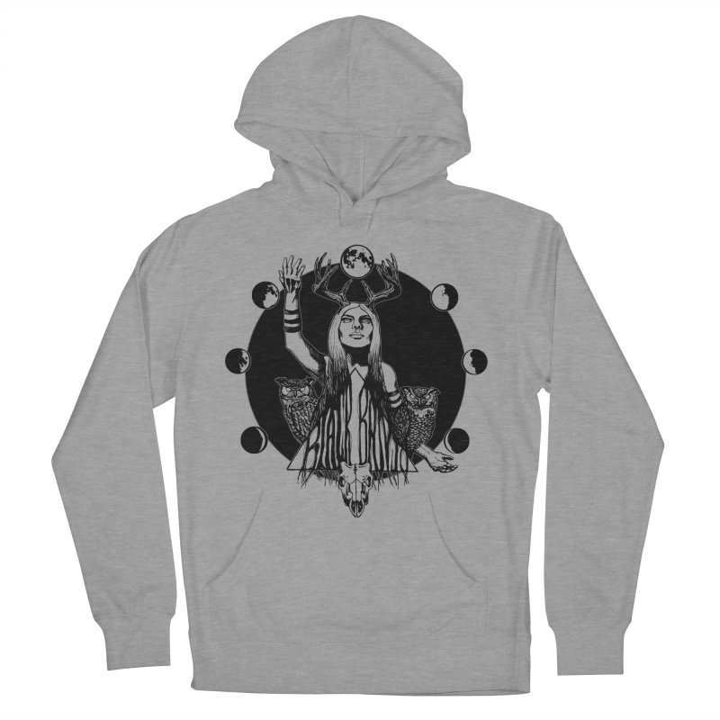 Blue Moon Women's Pullover Hoody by Black Banjo Arts