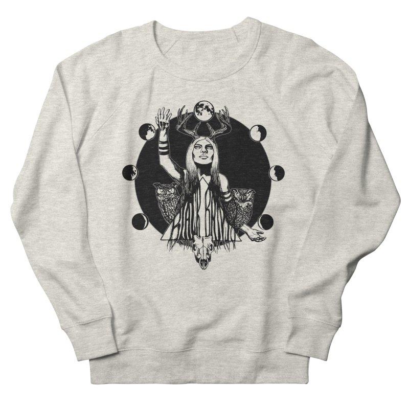 Blue Moon Women's Sweatshirt by Black Banjo Arts