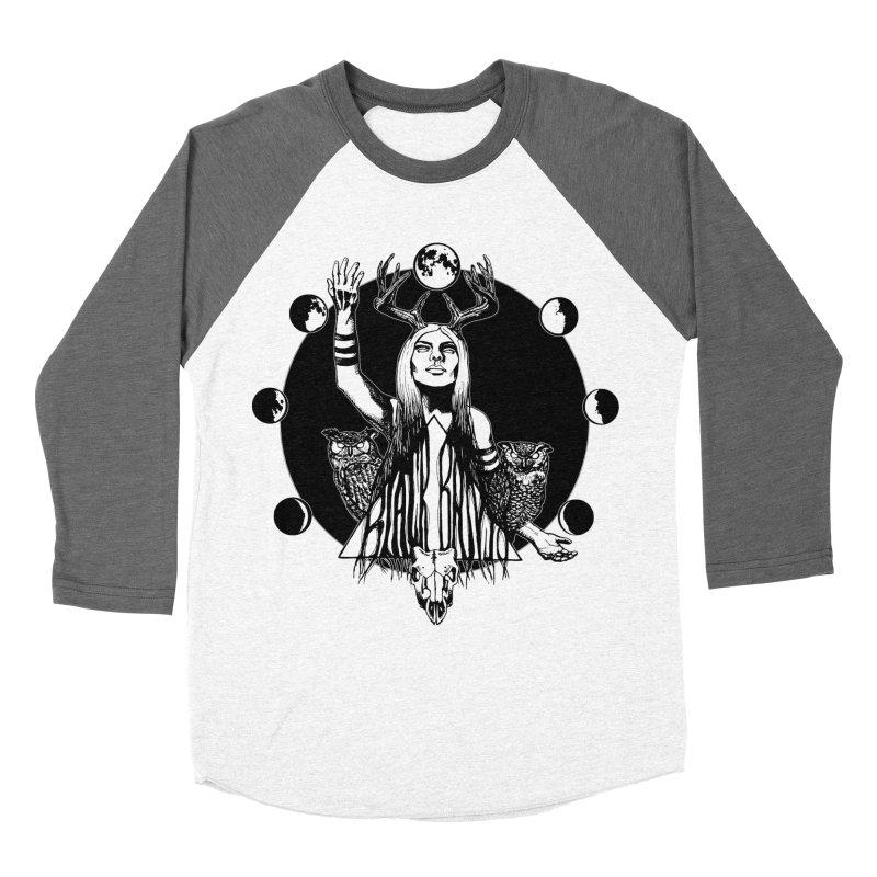 Blue Moon Women's Longsleeve T-Shirt by Black Banjo Arts