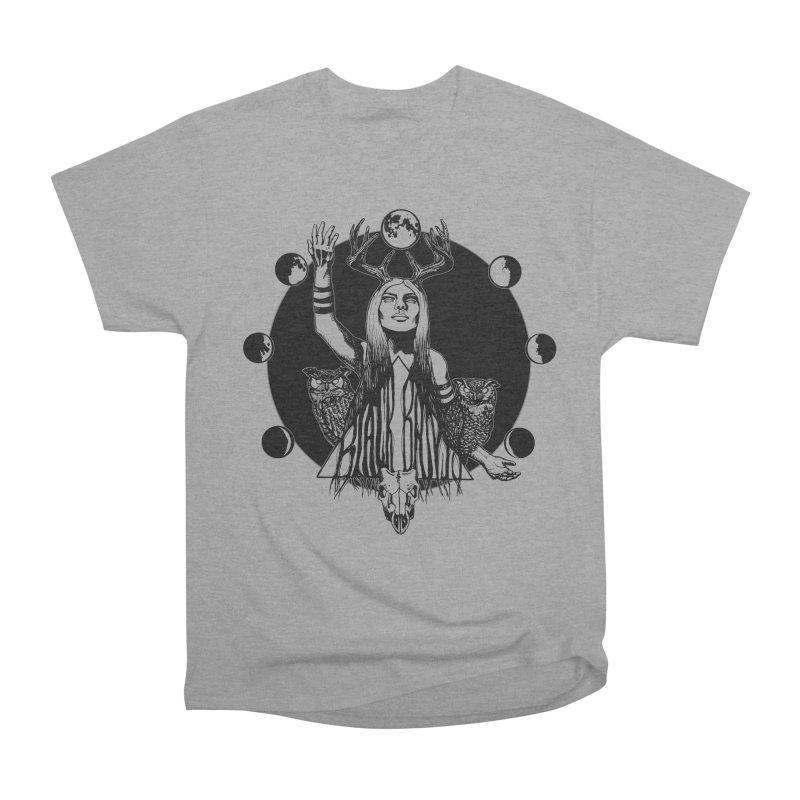 Blue Moon Women's Heavyweight Unisex T-Shirt by Black Banjo Arts
