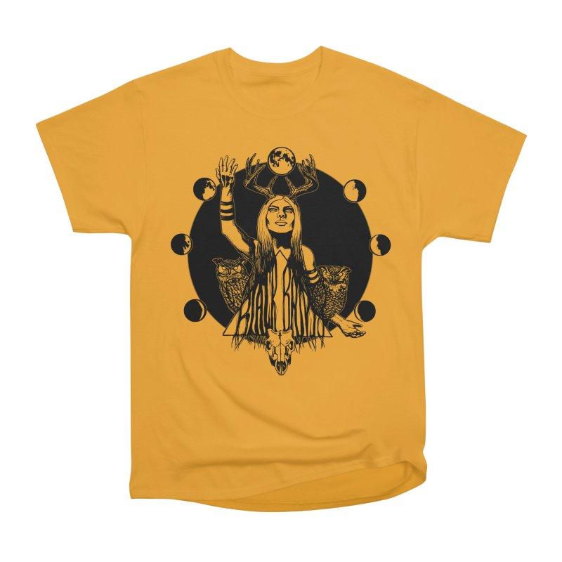 Blue Moon Men's Heavyweight T-Shirt by Black Banjo Arts