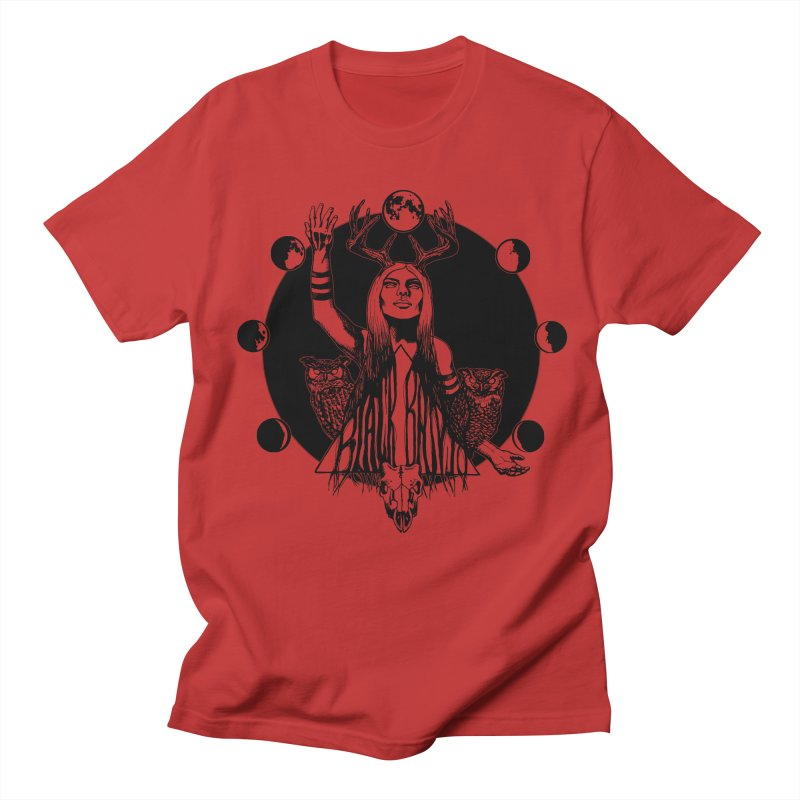 Blue Moon Men's Regular T-Shirt by Black Banjo Arts