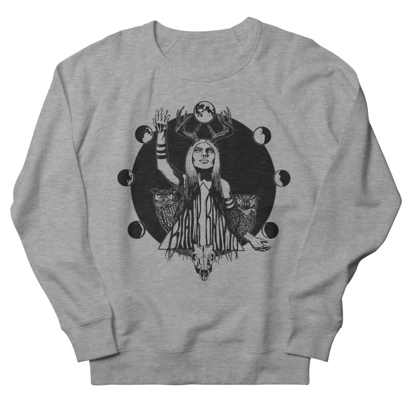 Blue Moon Women's French Terry Sweatshirt by Black Banjo Arts