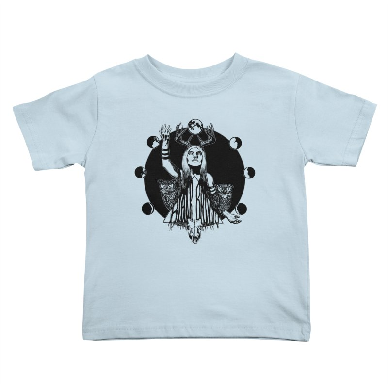 Blue Moon Kids Toddler T-Shirt by Black Banjo Arts