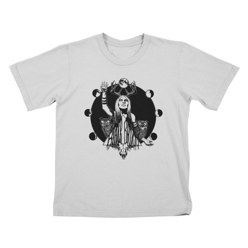 Blue Moon Kids T-Shirt by Black Banjo Arts