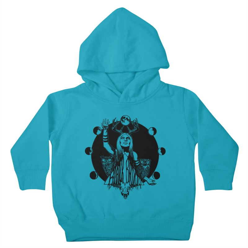 Blue Moon Kids Toddler Pullover Hoody by Black Banjo Arts