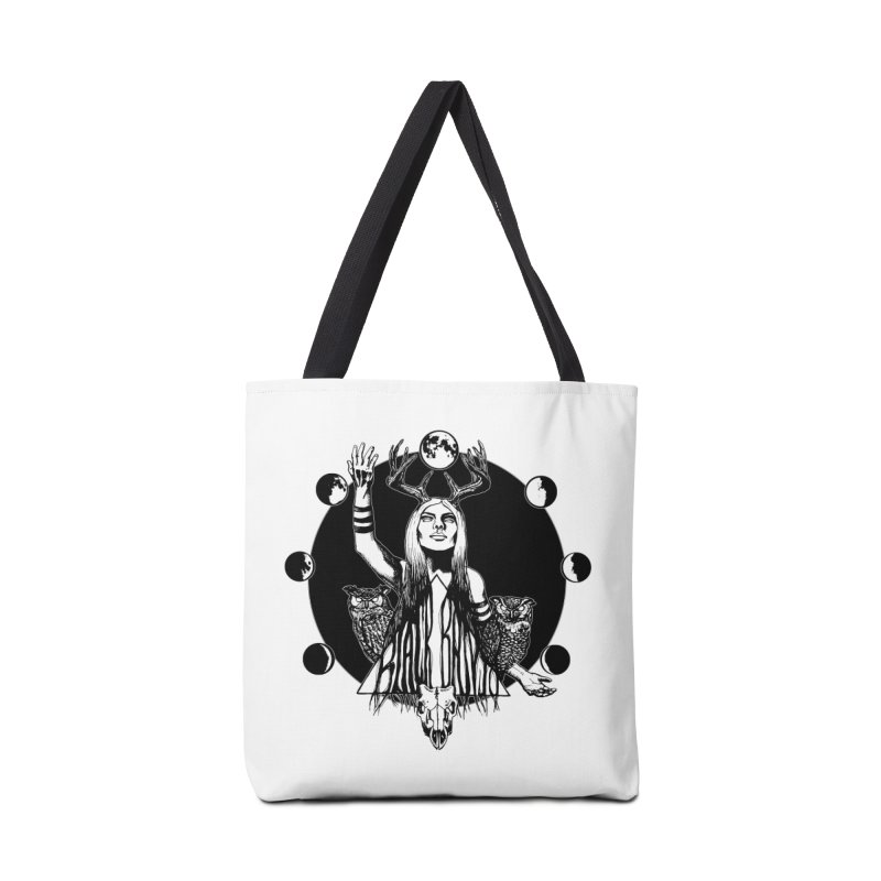 Blue Moon Accessories Tote Bag Bag by Black Banjo Arts
