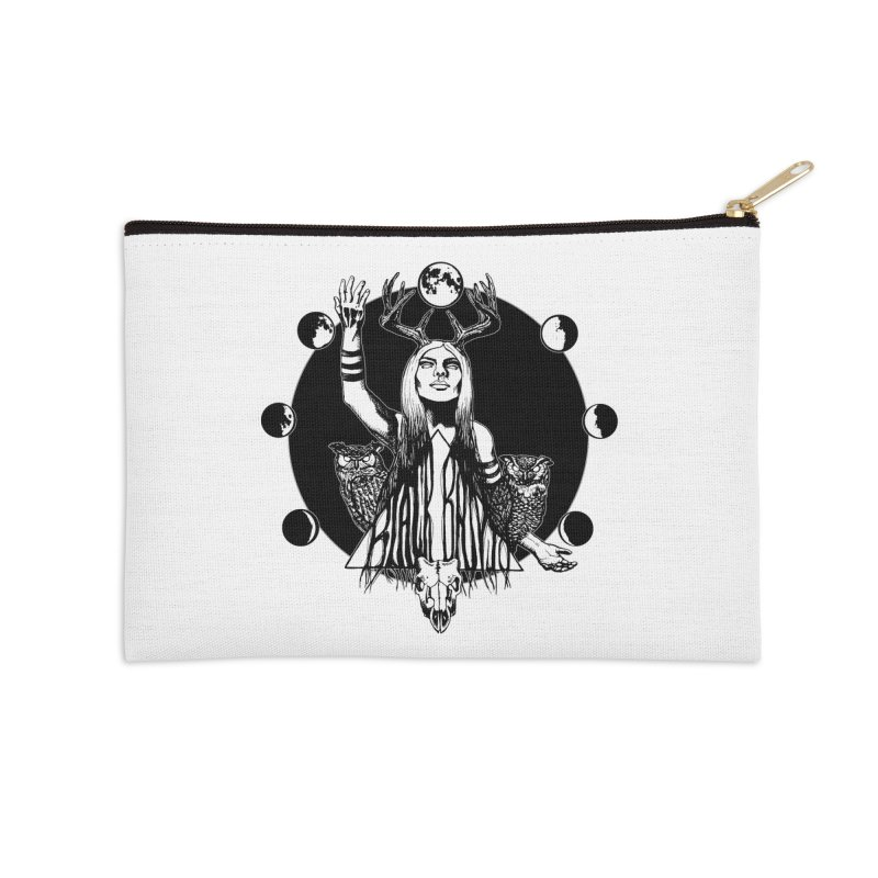 Blue Moon Accessories Zip Pouch by Black Banjo Arts