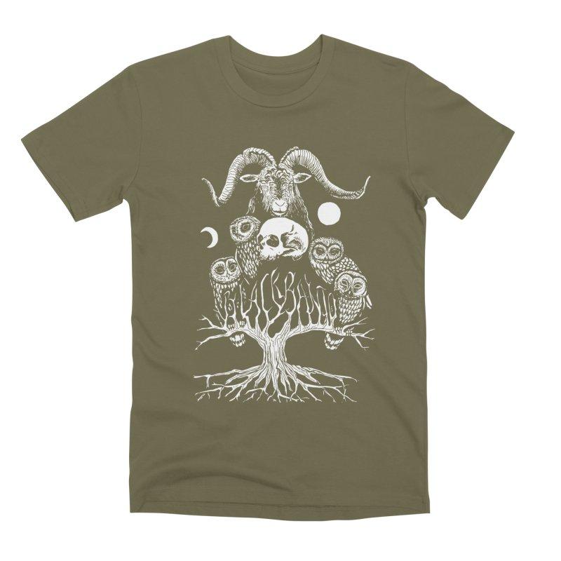 The Horned One's Messengers Men's Premium T-Shirt by Black Banjo Arts