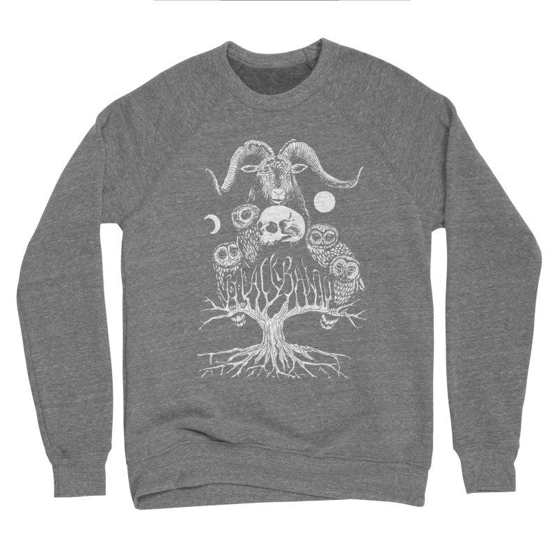The Horned One's Messengers Men's Sponge Fleece Sweatshirt by Black Banjo Arts