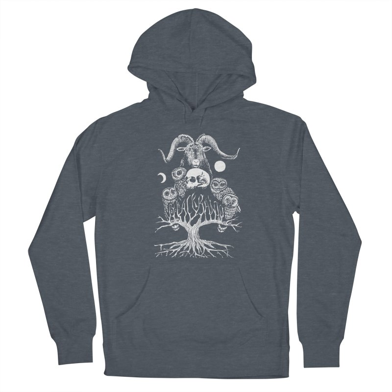The Horned One's Messengers Women's Pullover Hoody by Black Banjo Arts