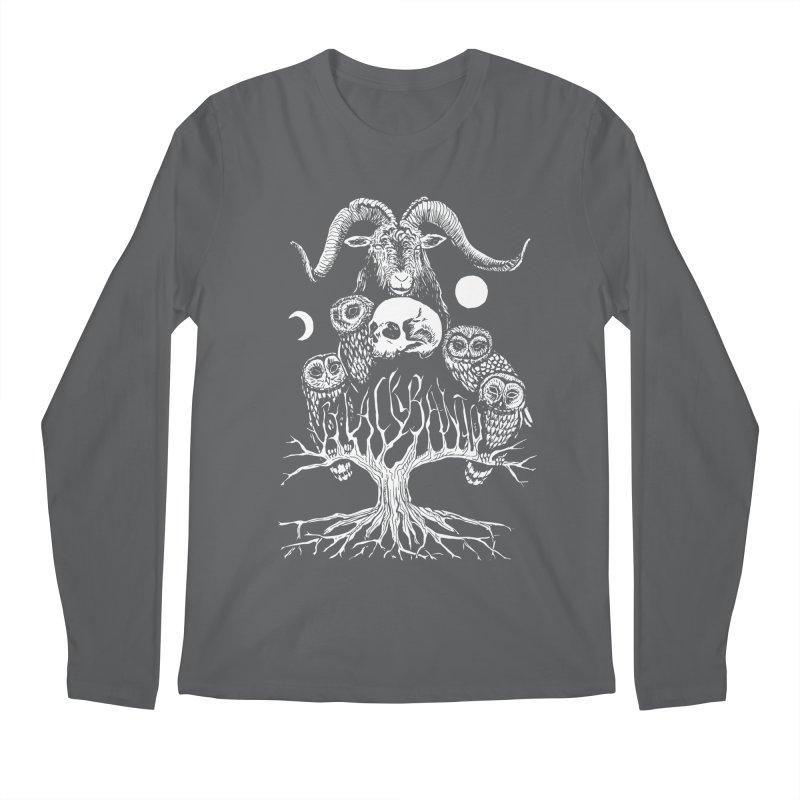 The Horned One's Messengers Men's Longsleeve T-Shirt by Black Banjo Arts
