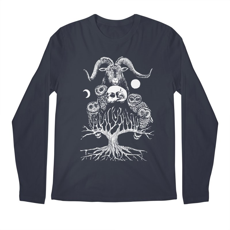 The Horned One's Messengers Men's Regular Longsleeve T-Shirt by Black Banjo Arts