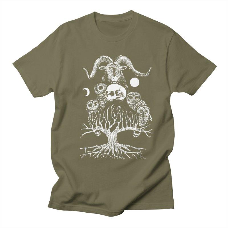 The Horned One's Messengers Men's Regular T-Shirt by Black Banjo Arts
